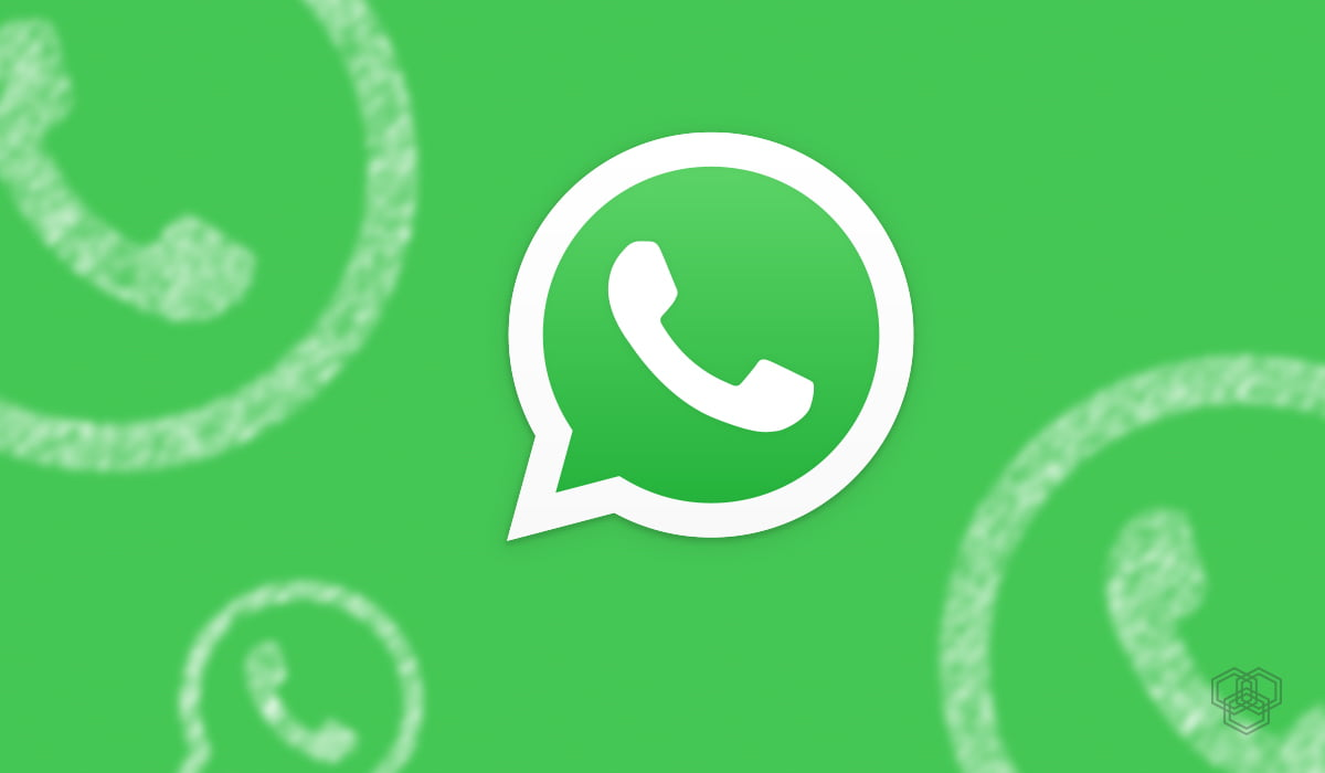 An illustration of WhatsApp logo