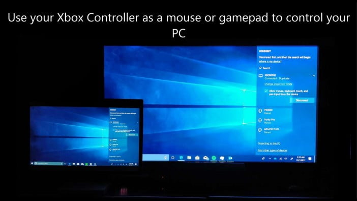use controller as mouse to control your pc