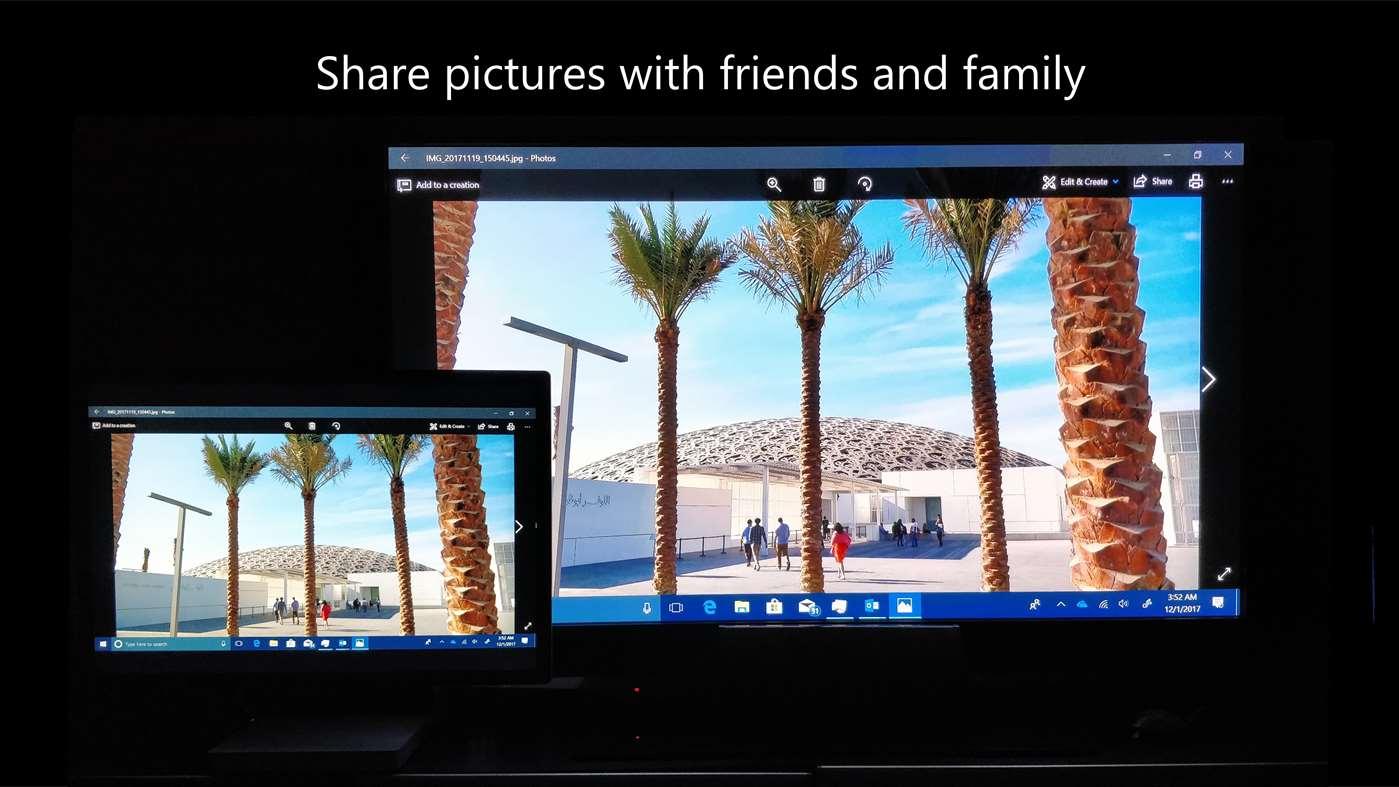 Photos app opened in Windows 10