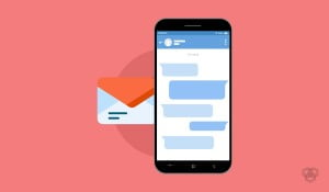 A featured image design of best messaging apps for Android smartphones