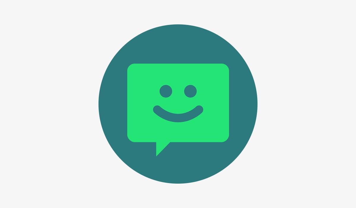 Chomp SMS app logo