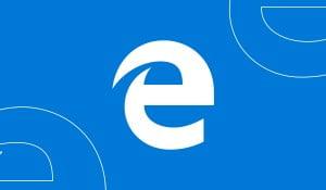 An illustration of Microsoft Edge logo