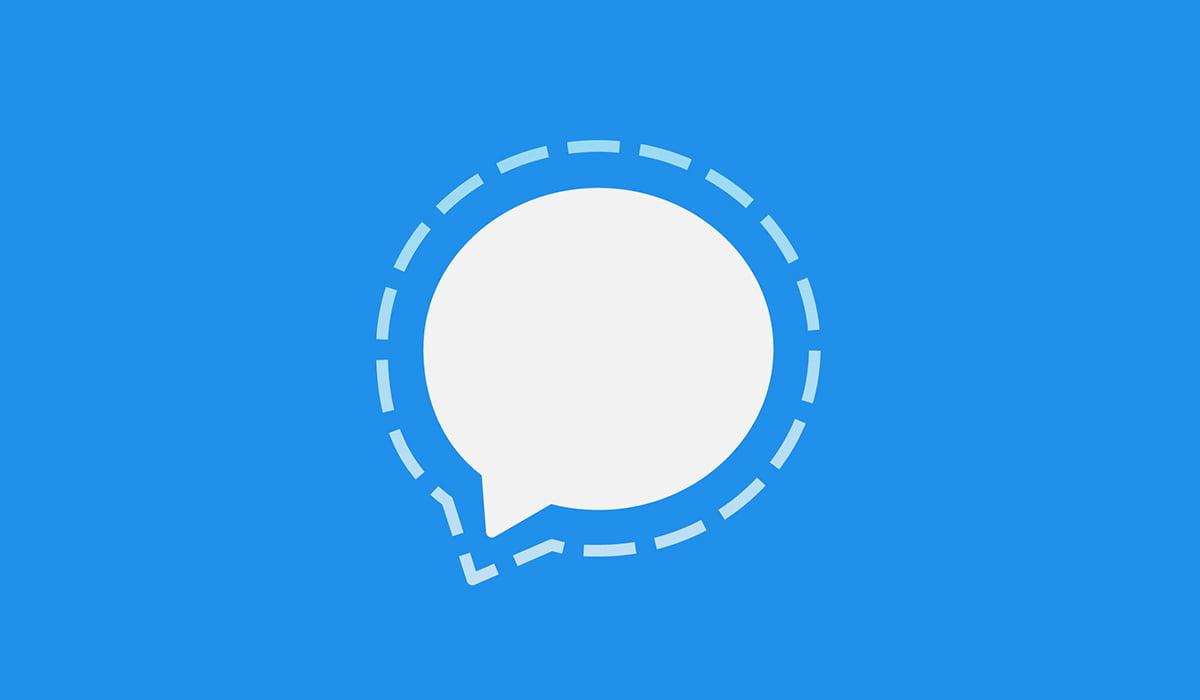 Signal Private messenger app logo