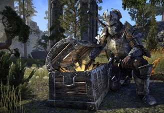 screenshot of the elder scrolls online game