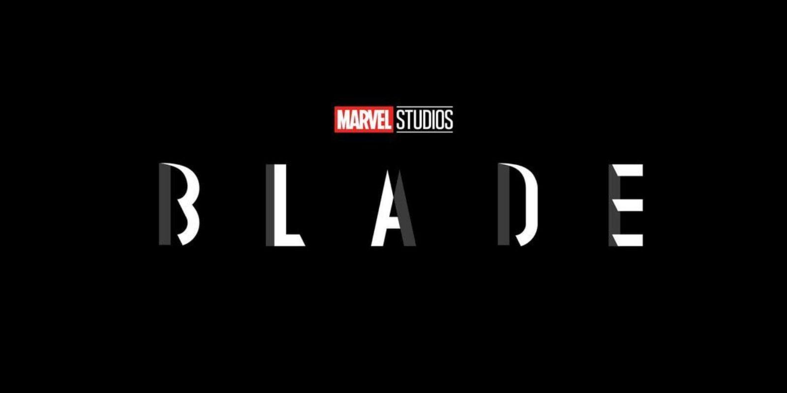 """Blade"" movie logo"