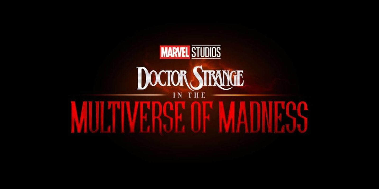 """Doctor Strange in the Multiverse of Madness"" movie logo"
