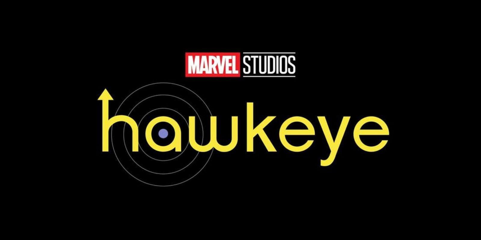 """""""Hawkeye"""" Disney+ show logo"""