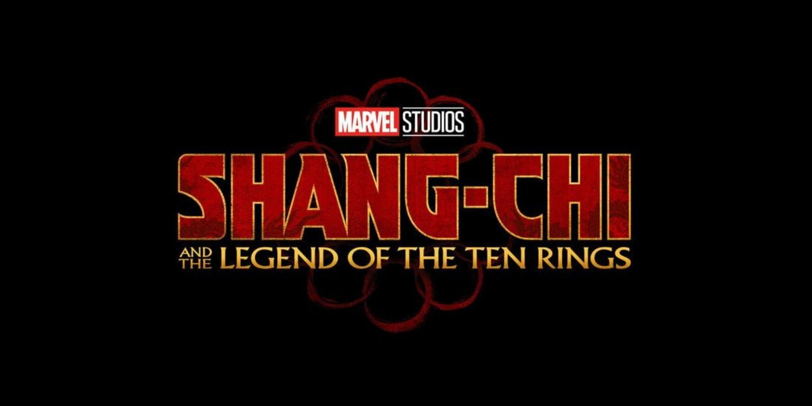 """Shang-Chi: And The Legend of The Ten Rings"" movie logo"