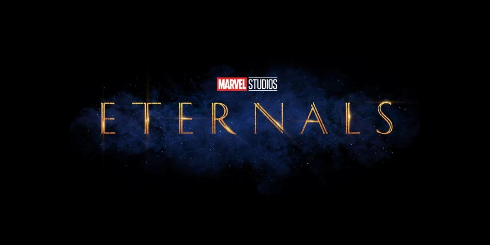 The Eternals movie logo from Marvel Phase 4