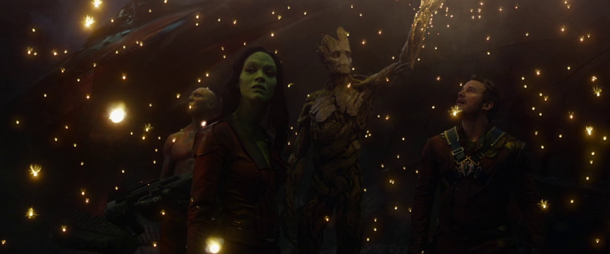 A shot from Guardians of the Galaxy (2014)