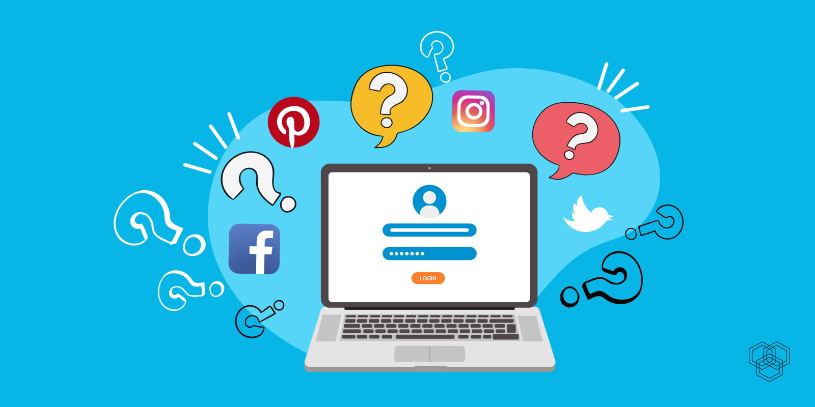 Social login password saver
