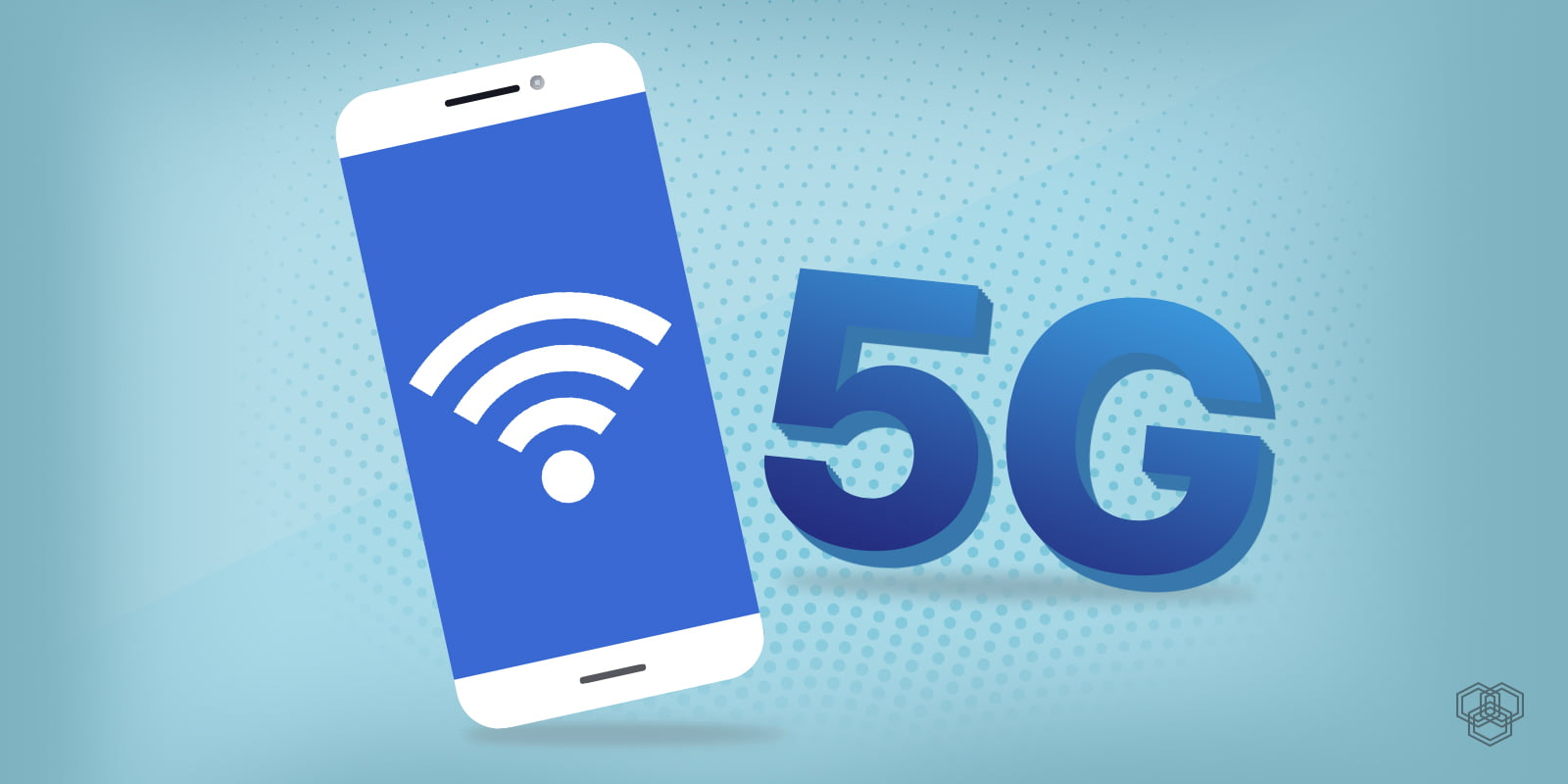 A featured image for 5G post