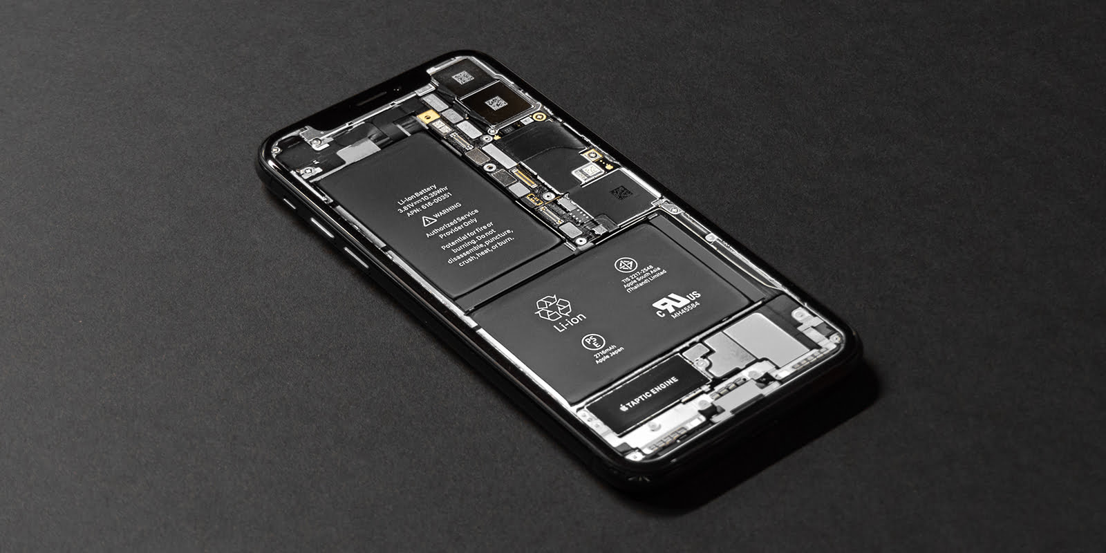 An iPhone's inside look with a removable battery