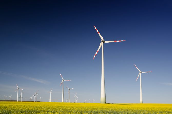 A photo of Wind Turbines