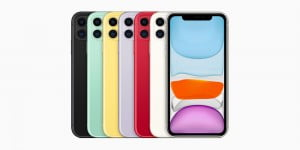 iPhone 11 in different colors