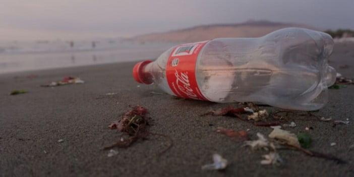 Coke plastic bottle