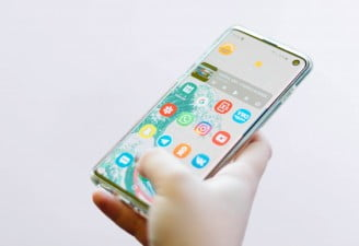 Samsung Galaxy S10 fingerprint