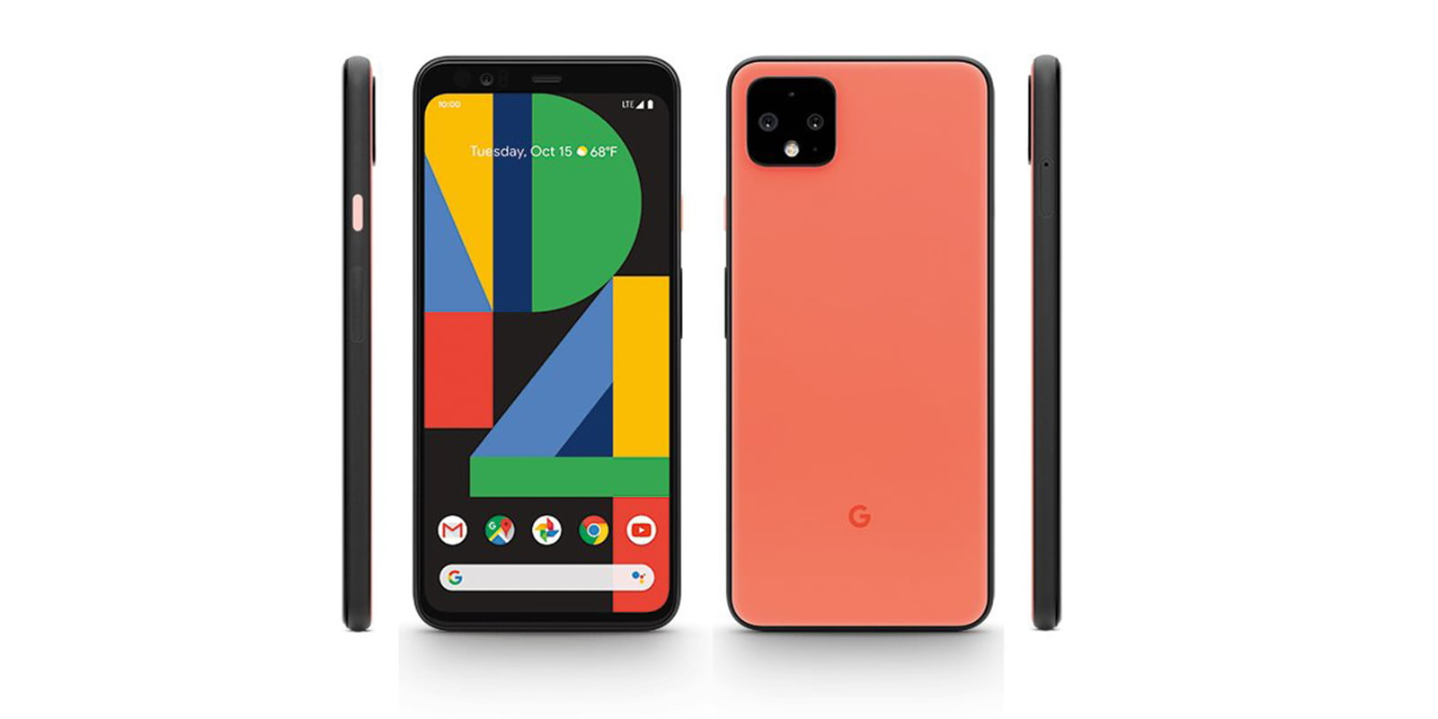 Pixel 4 Oh So Orange color