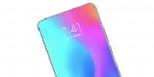 xiaomi under display camera bezelless phone patent