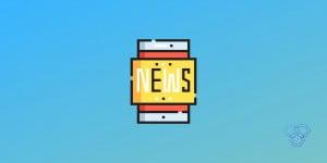 A featured image design for best tech news app