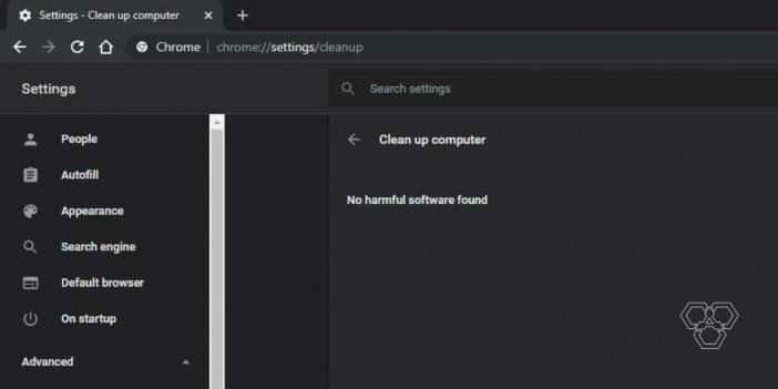 clean up computer using chrome cleanup tool