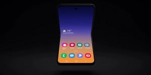 samsung's new foldable phone concept phone