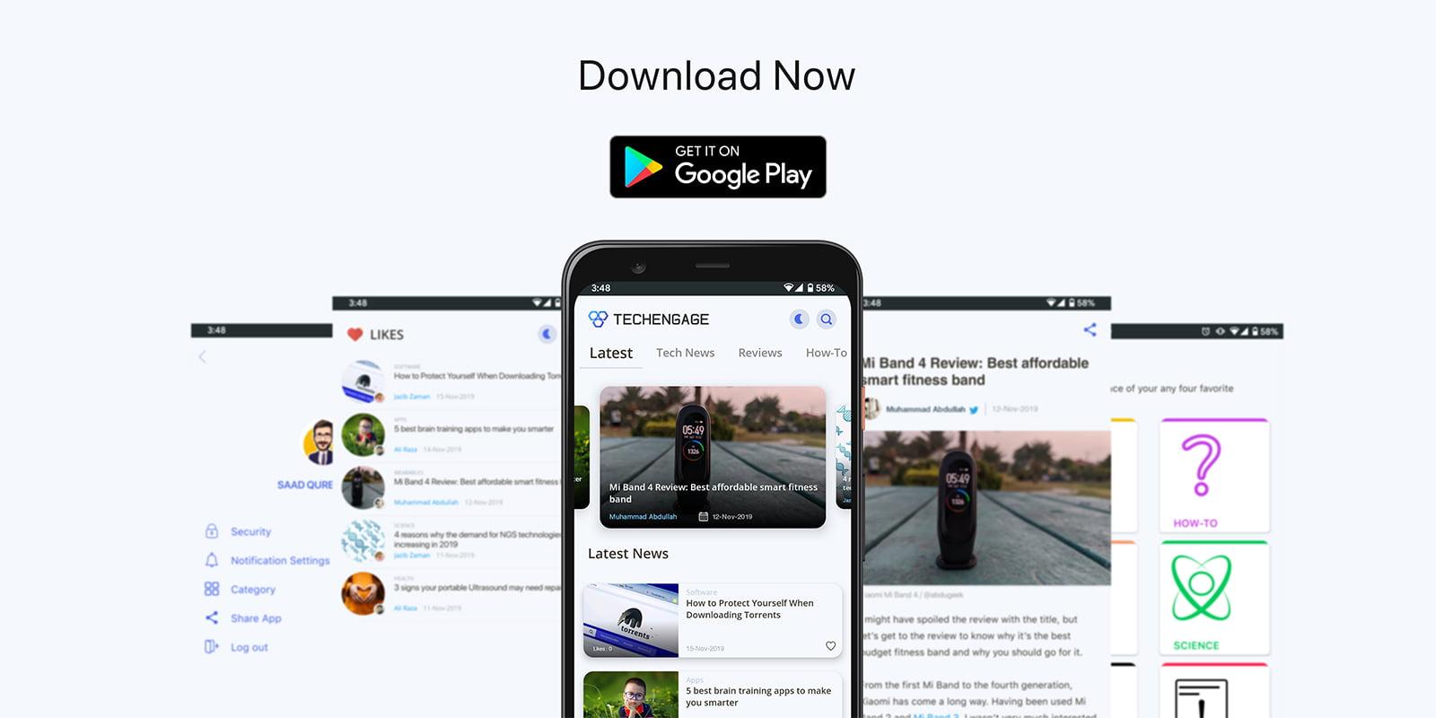 TechEngage Android App Promo
