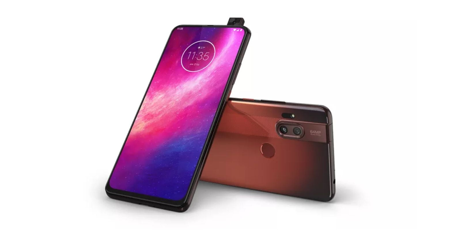 Motorola One Hyper design