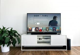 A photo of TV lounge