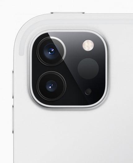 New iPad Pro Ultra-wide camera sensor and LiDAR Scanner