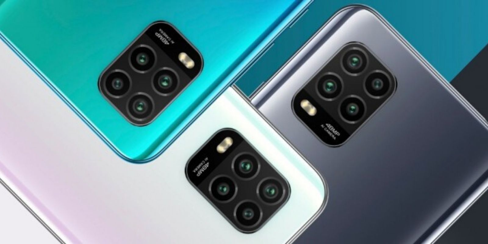 quad camera setup of mi 10 lite