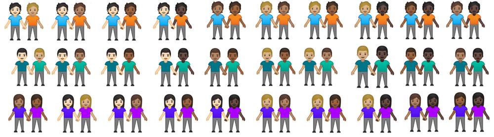 New emojis in Pixel 4