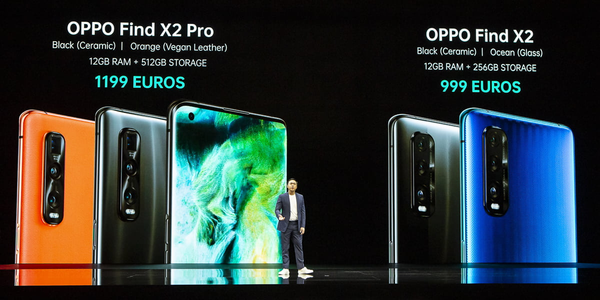 Oppo Find X2 and Find X2 Pro