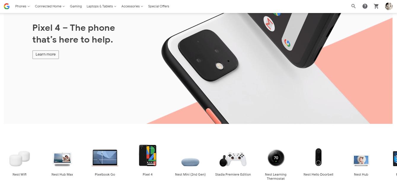 Google Store Snapshot