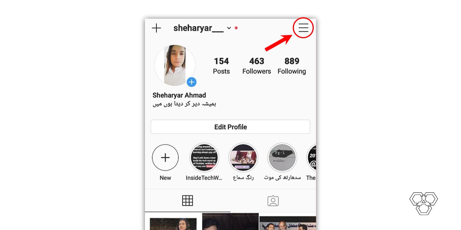 instagram steps
