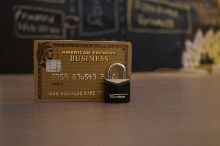 A photo of credit card