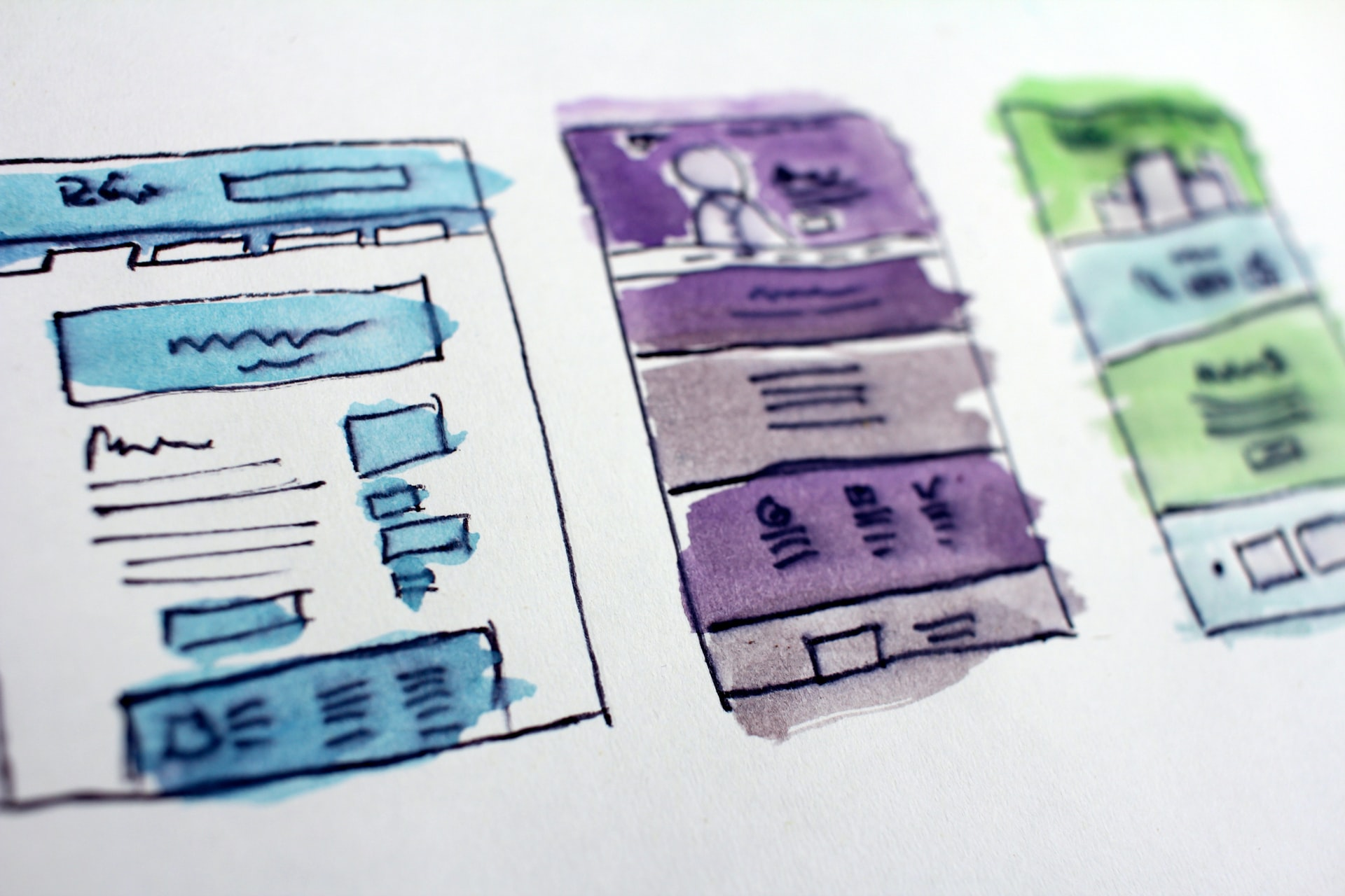 Web design steps