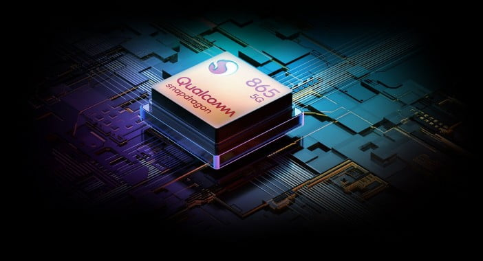 Snapdragon 865 chipset with 5G support
