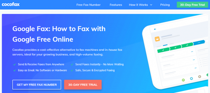 cocofax fax sending