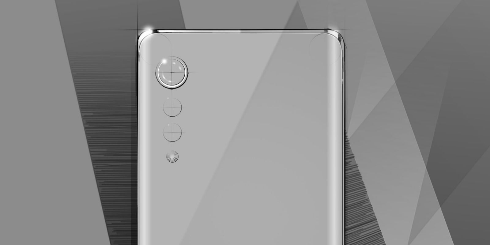 LG new water-drop phone design