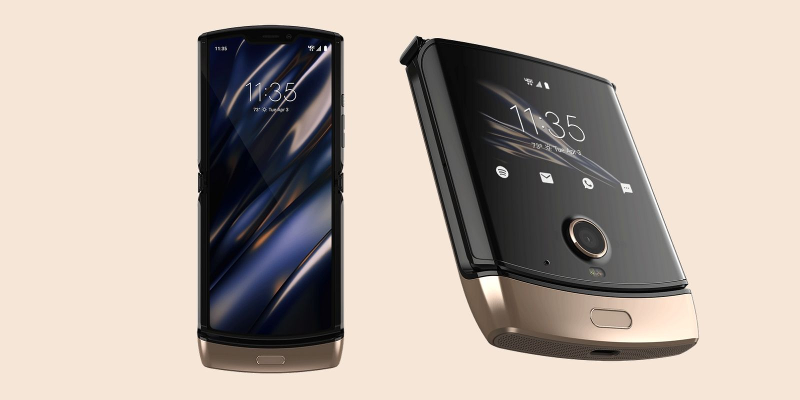 Motorola Razr now comes in gold color at $1,499