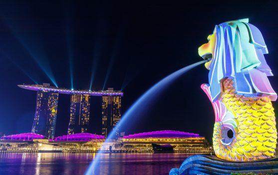 Singapore Lion Fountain photo