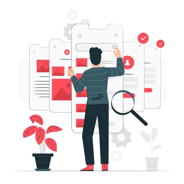 App UI illustration