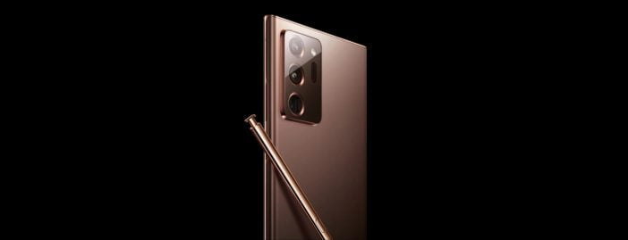 Galaxy Note 20 Ultra in Copper Leaked