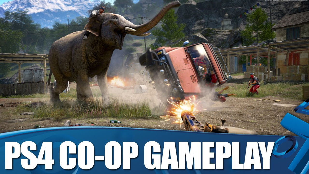 Far Cry 4 Co-op gameplay of 10 minutes