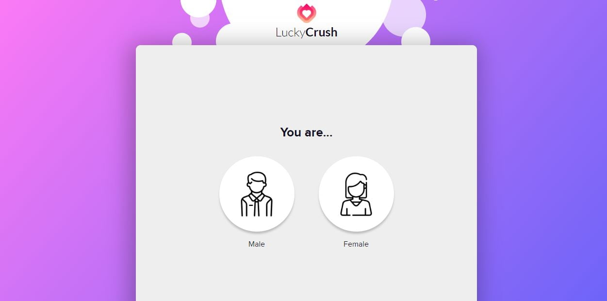 LuckyCrush: Live random video chat site for flirting