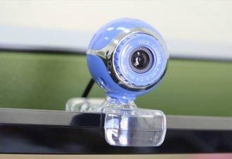 Webcam into a security camera