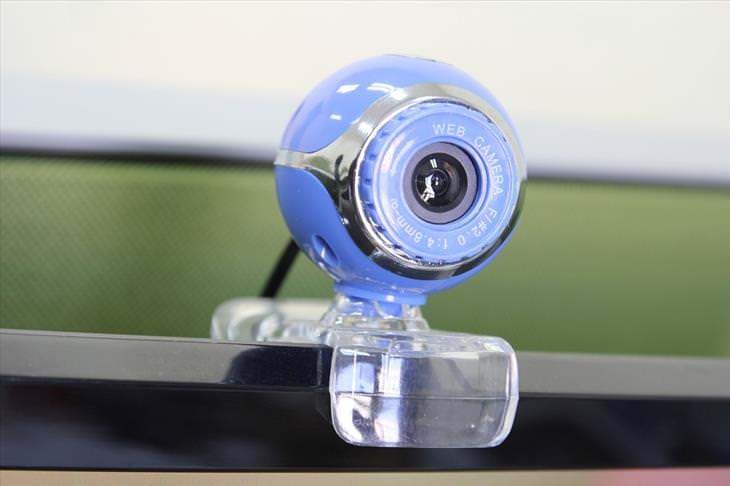 Webcam into a security camera