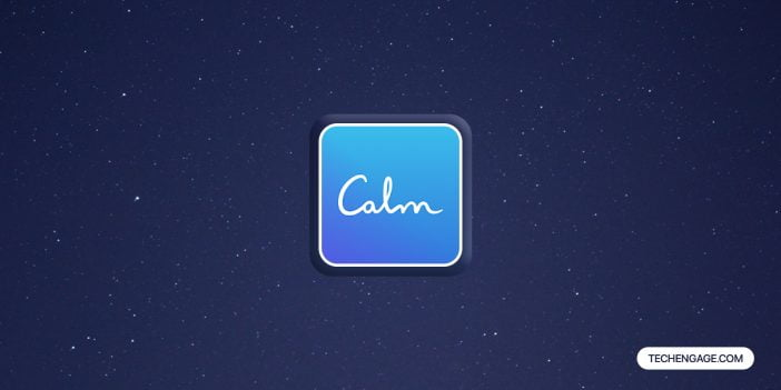 Calm android app