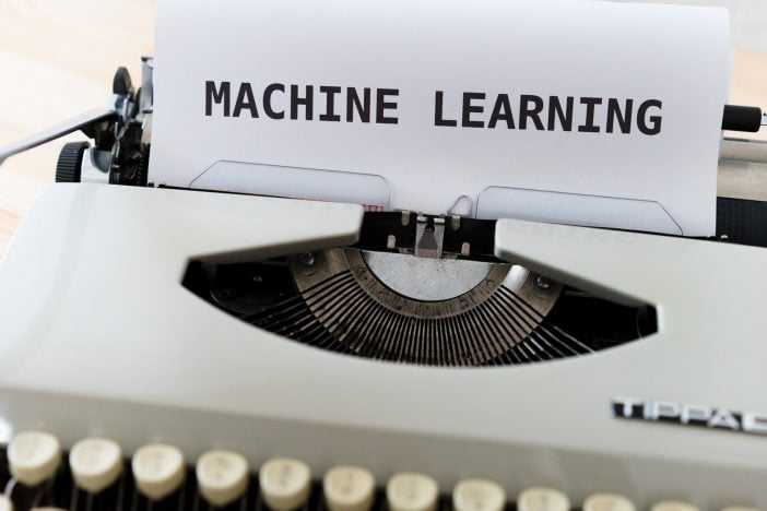 Machine Learning on a typewriter